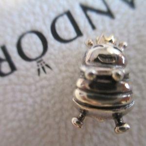 Pandora Queen Bee Charm 790227 silver 14k retired
